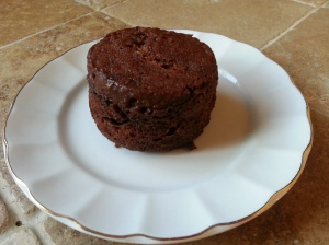 Gluten free Chocolate cake in a cup