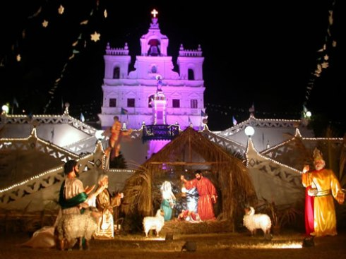 "Christmas in Goa. Picture credit ""www.travelhangover.com"""