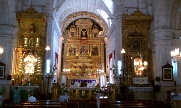 Holy Spirit Church in Margao, Goa is dated back in 1564-1675.
