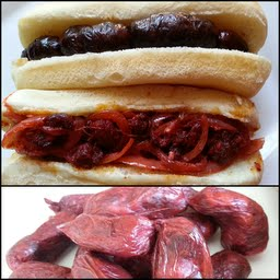 "Goan Sausages and its famous "" Chorizo or Chouriço Pão"" (Sausage Bread)."