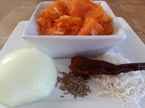 Pumpkin with Grated Coconut