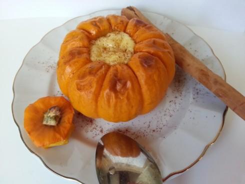 Creme Brulee in Mini Pumpkins | Goan Imports