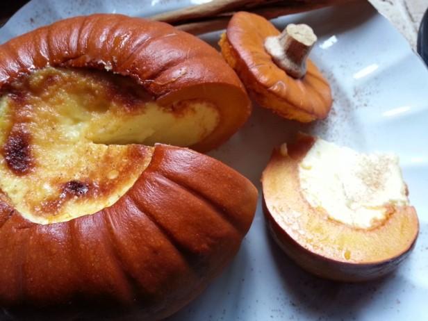 Creme Brulee in Mini Pumpkin | Goan Imports