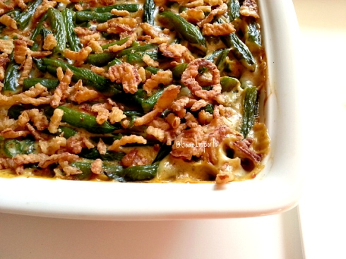 Classic Green Bean Casserole with a twist | Goan Imports