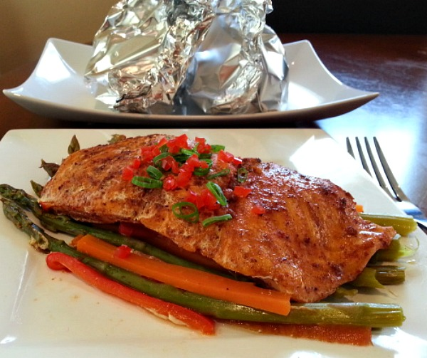 Spicy Baked Salmon Recheado Masala Goan Indian Recipe