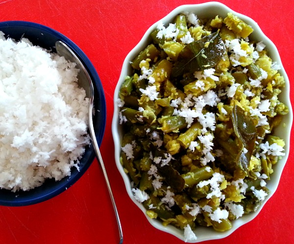 Green Beans with Grated Coconut | Goan Imports
