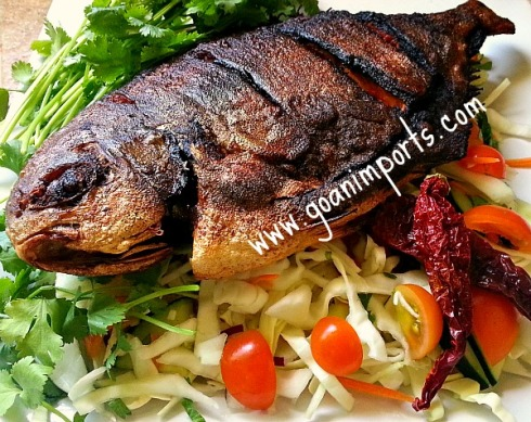 Fish recipe goan imports for Pompano fish recipe