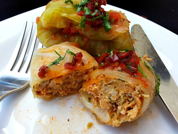 Stuffed Cabbage With Vindaloo Chicken Goanimports