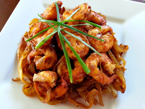 ... sauteed five spice shrimp recipes dishmaps shrimp sauteed in spice