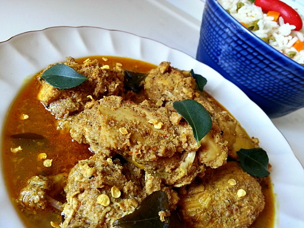 Chicken Xacuti Chicken Curry Made With Roasted Grated Coconut