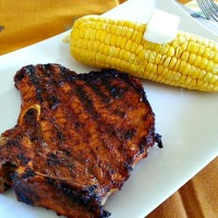 Grilled Vindaloo Pork Chops