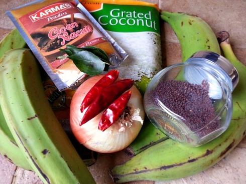 green-banana-plantain-vegetable-xacuti-recipe-ingredients