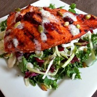 Goan Spiced Grilled Salmon
