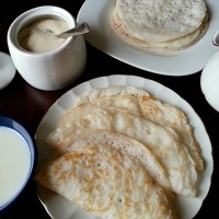 Appam - Rice Pancakes Recipe