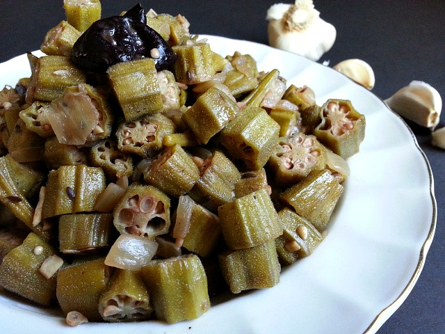 Cooked okra goan ladyfingers recipe goanimports cooked okra goan ladyfingers recipe forumfinder Image collections