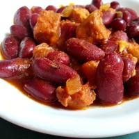 Feijoada - Red Kidney Beans with Pork