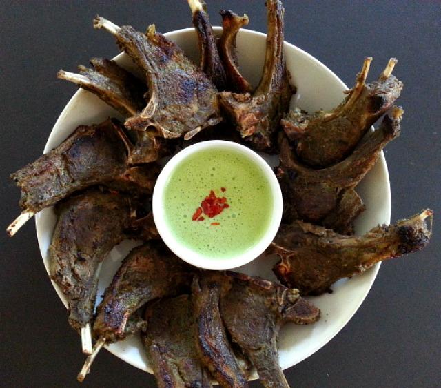 Herb Goat Chops with Mint Yogurt Sauce – GoanImports.com