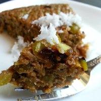 Atoll - Rice and Channa Dal Pudding