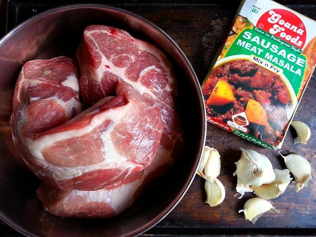 Recipe for pork sausage meat