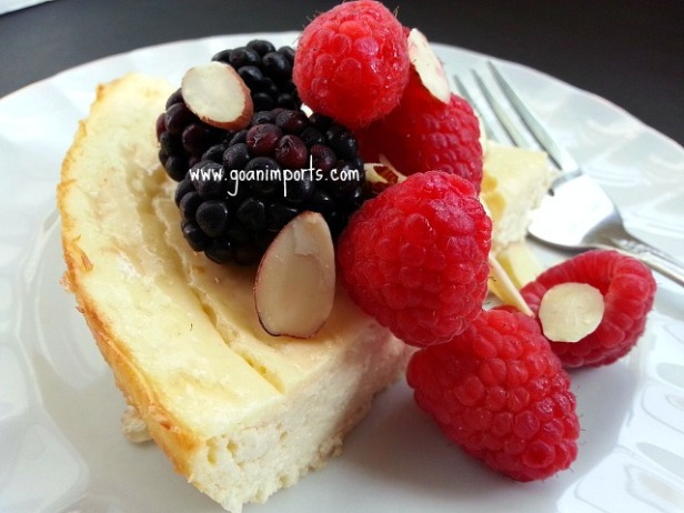 baked-cheesecake-no-crust-low-sugar-fat-easy-recipe