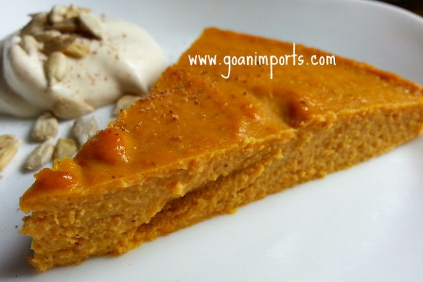 baked-crustless-pumpkin-pudding-recipe-cheesecake-pie-cooked-filling