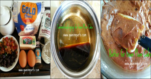 goan-plum-cake-recipe-collage-of-ingredients