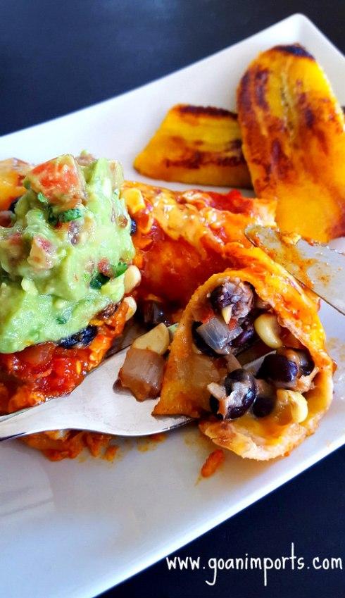Vegetarian Enchilada Casserole Recipe   GoanImports.com