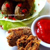Beef Croquettes Recipe - Shallow Fried and Baked