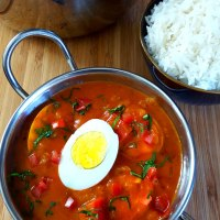 Egg Tikka Masala Curry Recipe