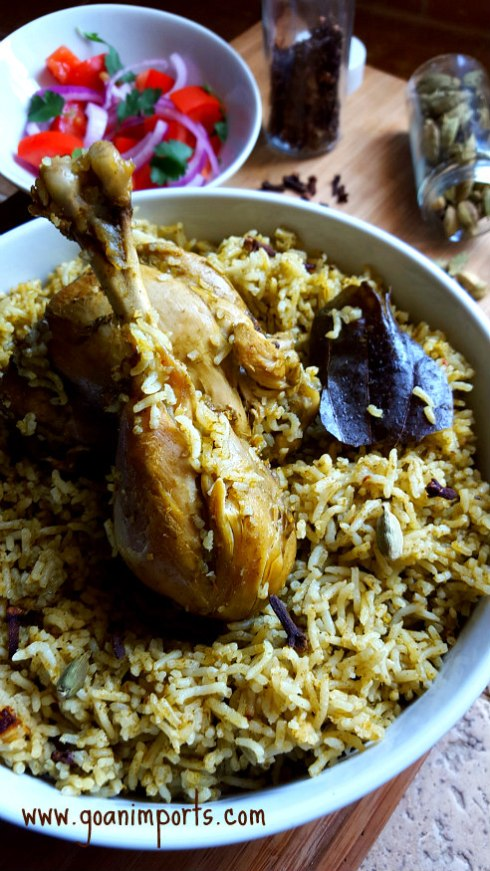 arroz-con-pollo-chicken-briyani-pressure-cooker-spain-corriander-cilantro-rice-recipe