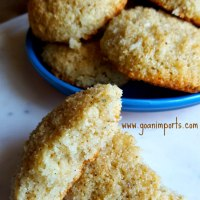 Bolinhos de Coco - Coconut Cookies Recipes