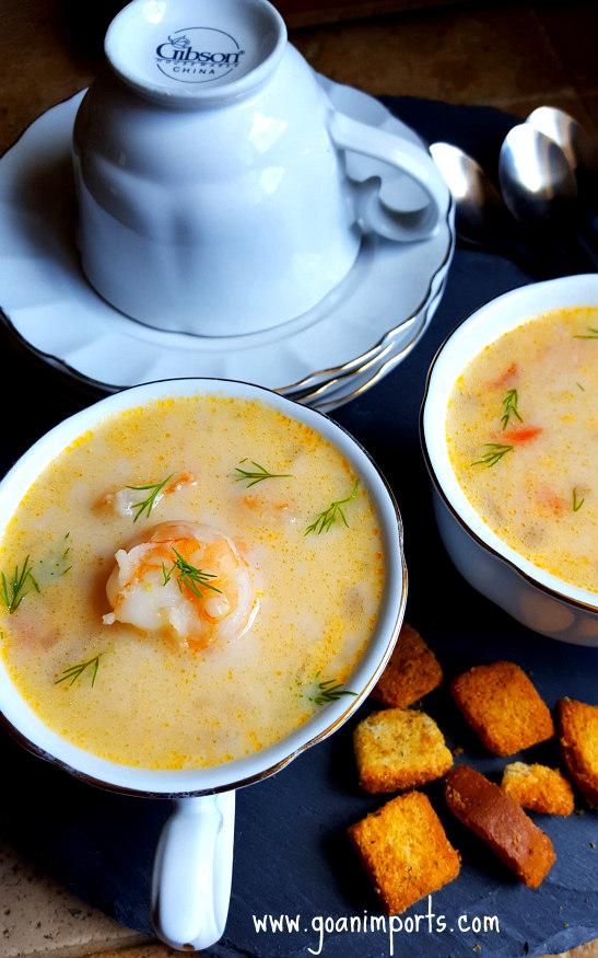 sopa-de-camarao-shrimps-soup-prawns-camarones-crema-recipe-goan