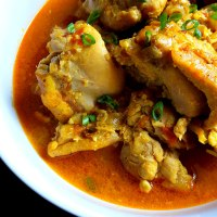 Goan Guisado de Galinha  - Chicken Stew Recipe