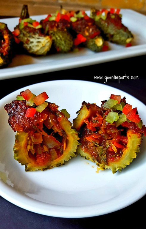 stuffed-prawns-shrimps-karela-recheado-masala-recipe-goan