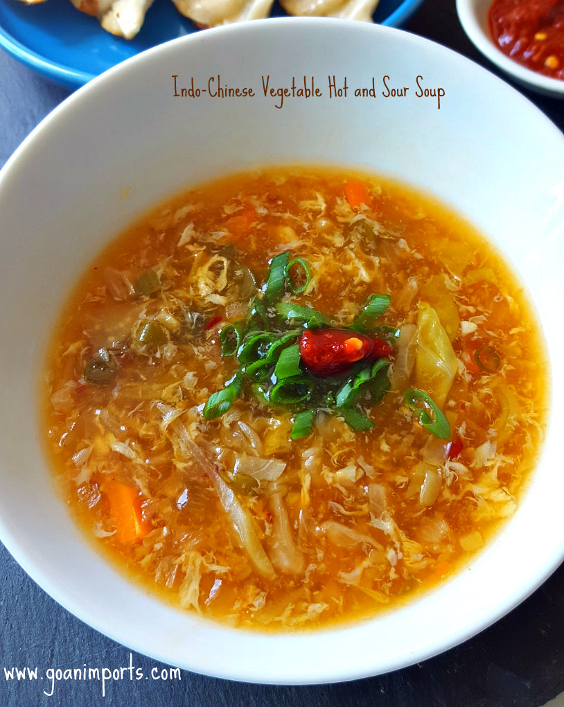 Indo-Chinese Hot and Sour Soup Recipe | GoanImports.com