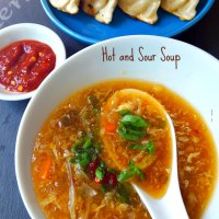 Indo-Chinese Hot and Sour Soup Recipe