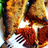 Recheado Bhangde - Spicy Stuffed Mackerels Recipe