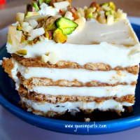 Bolo de Bolacha Marie - Marie Biscuit Cake Recipe