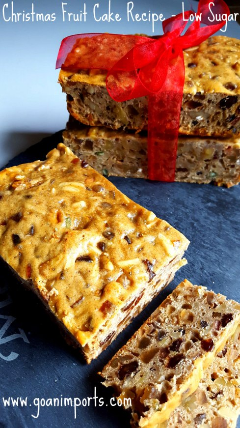 fruit-cake-recipe-christmas-dry-fruits-soaked-in-rum-brandy-mincemeat-less-sugar